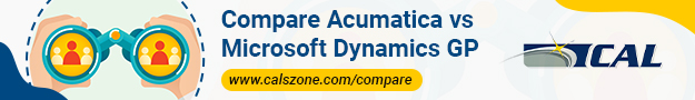Compare Acumatica vs Microsoft Dynamics GP