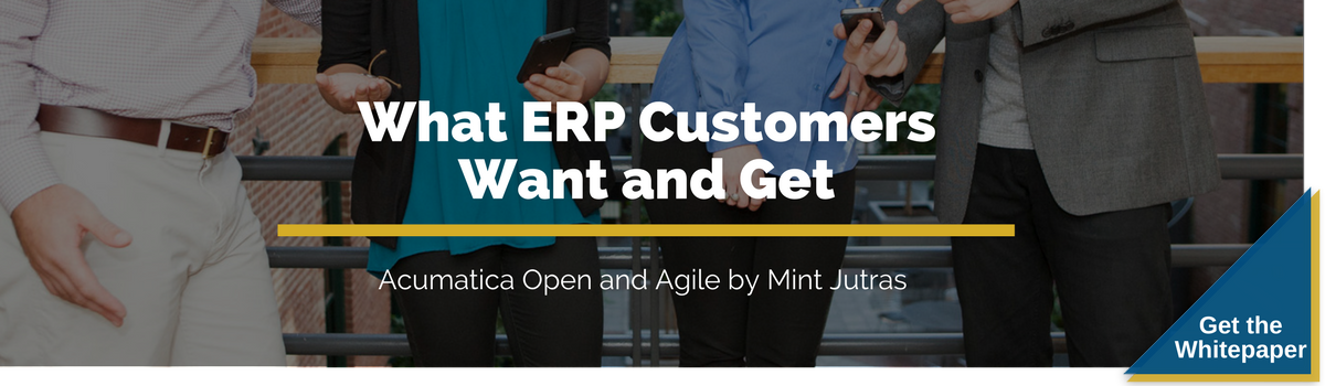 What ERP Customers Want and Get