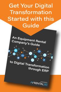 Digital Transformation for Equipment Rental
