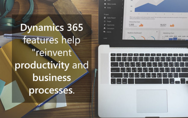 Dynamics 365 features help reinvent productivity and business processes