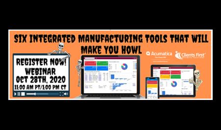 modern manufacturing ERP