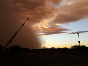 AZ Dust storm during Directions Conference and Microsoft Dynamics 365 Session Track.