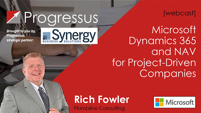 Progressus Projects for Microsoft Dynamics 365 and NAV
