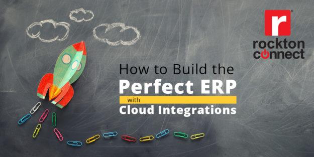 rocket soars toward a cloud of integrations