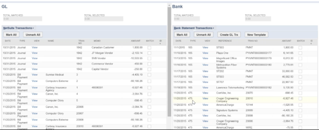 Take a Deeper Look at Advanced Bank Reconciliation for NetSuite – Gl Reconciliation Template